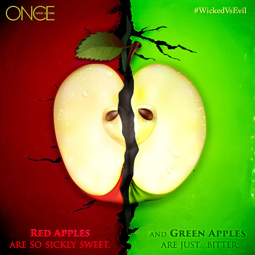 Once Upon A Time fond d'écran titled pomme
