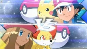 Ash vs Serena