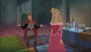 Aurora and Phillip in Keys to the Kingdom