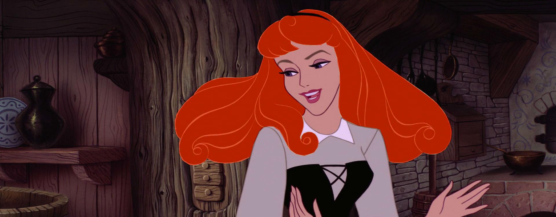 Aurora with red hair - Disney Princess Photo (36929739 ...