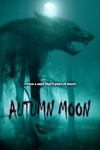 mga asong lobo wolpeyper with a pacific sardine titled Autumn Moon