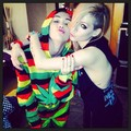 Avril and Miley Cyrus - April Fools - avril-lavigne photo