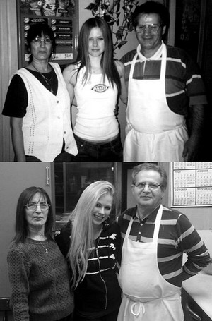 Avril in La Pizzeria Napanee 2002 - 2014