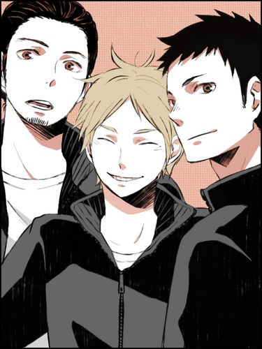 Haikyuu!!(High Kyuu!!) 壁纸 titled Azumane, Daichi, and Sugawara