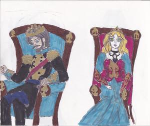 BSFH concept art- King Gunther & क्वीन Edith