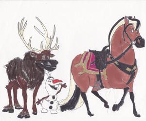 BSFH concept art- Sven, Olaf, & Sitron