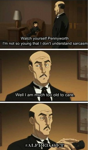 Badass Alfred!