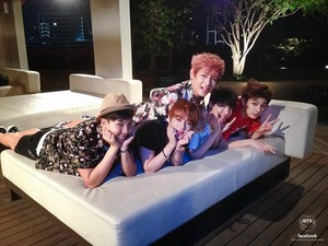 Bangtan Boys in 'Now: BTS in Thailand' photobook