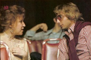 Barry Talking With Bette Midler