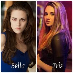 Bella Cullen and Tris Prior
