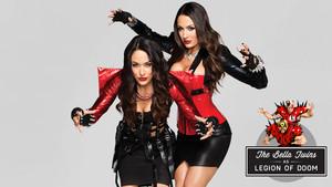 Bella Twins as Legion of Doom