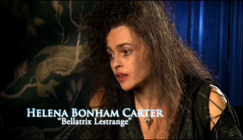 Беллатриса Лестрейндж Обои containing a portrait called Bellatrix Lestrange