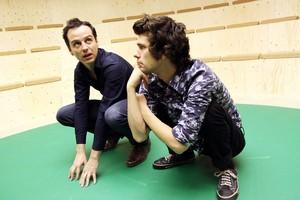 Ben Whishaw and Andrew Scott