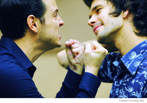Ben Whishaw and Andrew Scott