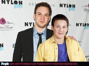 Ben and his younger self