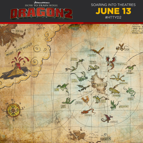 How to Train Your Dragon images Berk\'s Map wallpaper and background ...