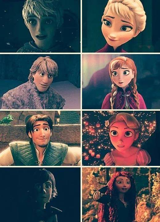 Big Eight (Now including Kristoff and Eugene)