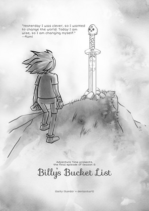 Billy's Bucket List
