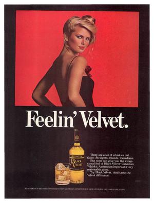 Black Velvet ad