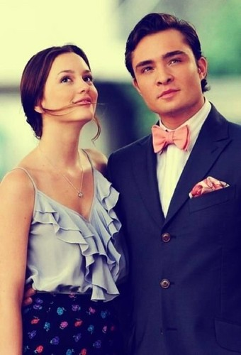 Blair & Chuck Обои titled Blair and Chuck