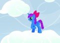 Blue Cherry my oc - my-little-pony-friendship-is-magic photo