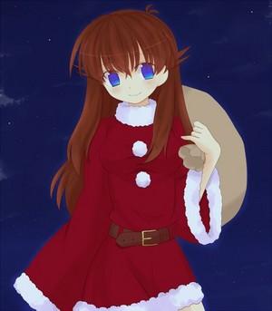 Blue 圣诞节