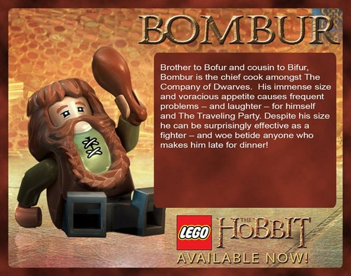 호빗 바탕화면 called Bombur in LEGO The Hobbit