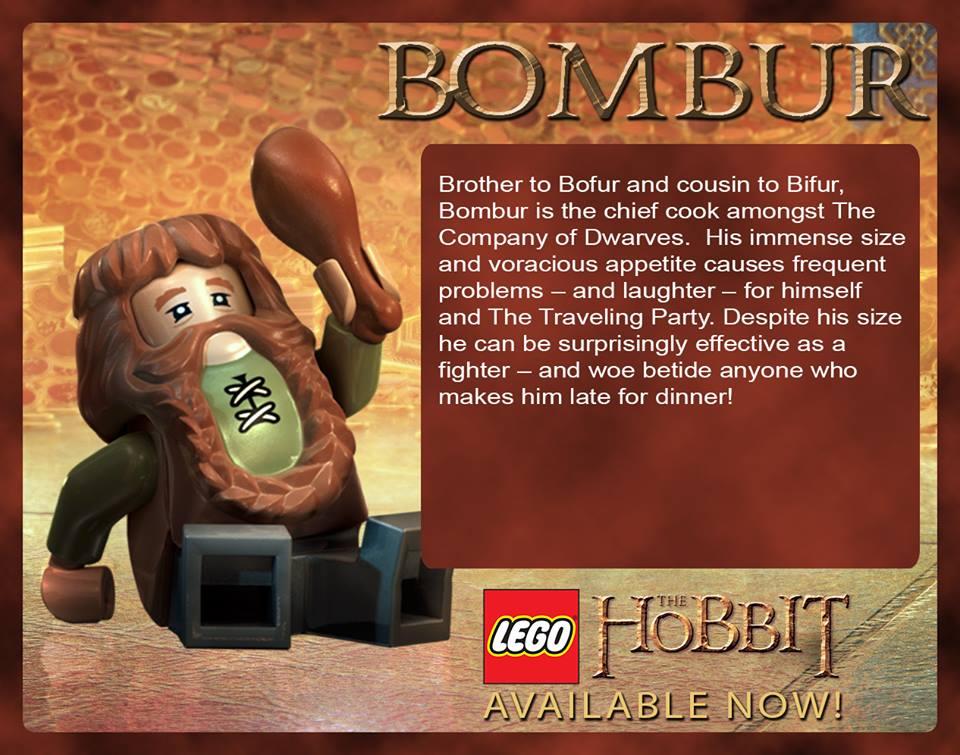 Bombur in LEGO The Hobbit