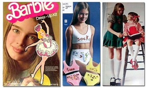 Brooke Shields Young Modeling