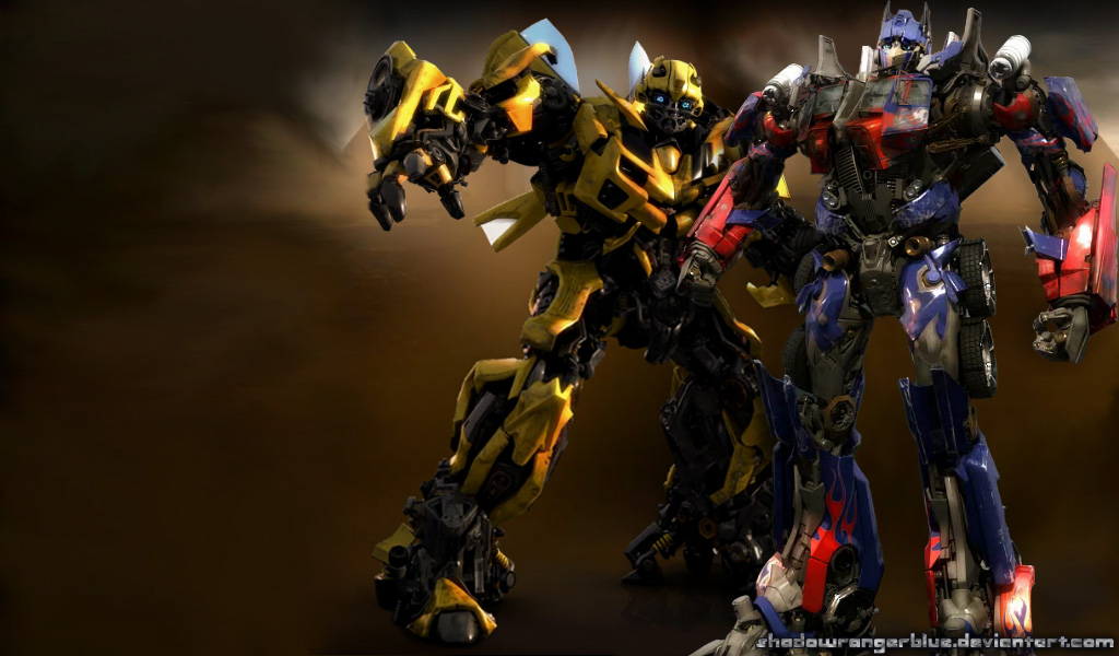 Bumblebee and optimus