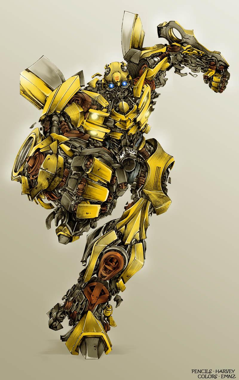 Pics For > Transformers 4 Bumblebee Vs Stinger pixshark ...