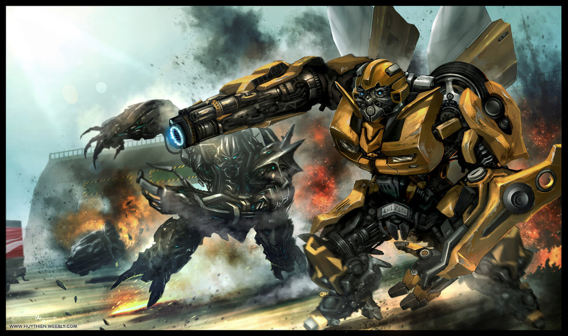 The Transformers images Bumblebee vs megatron HD wallpaper ...