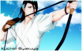 Byakuya as a Quincy?!?!?!