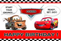 CORBIN'S 2ND BDAY - disney-pixar-cars fan art