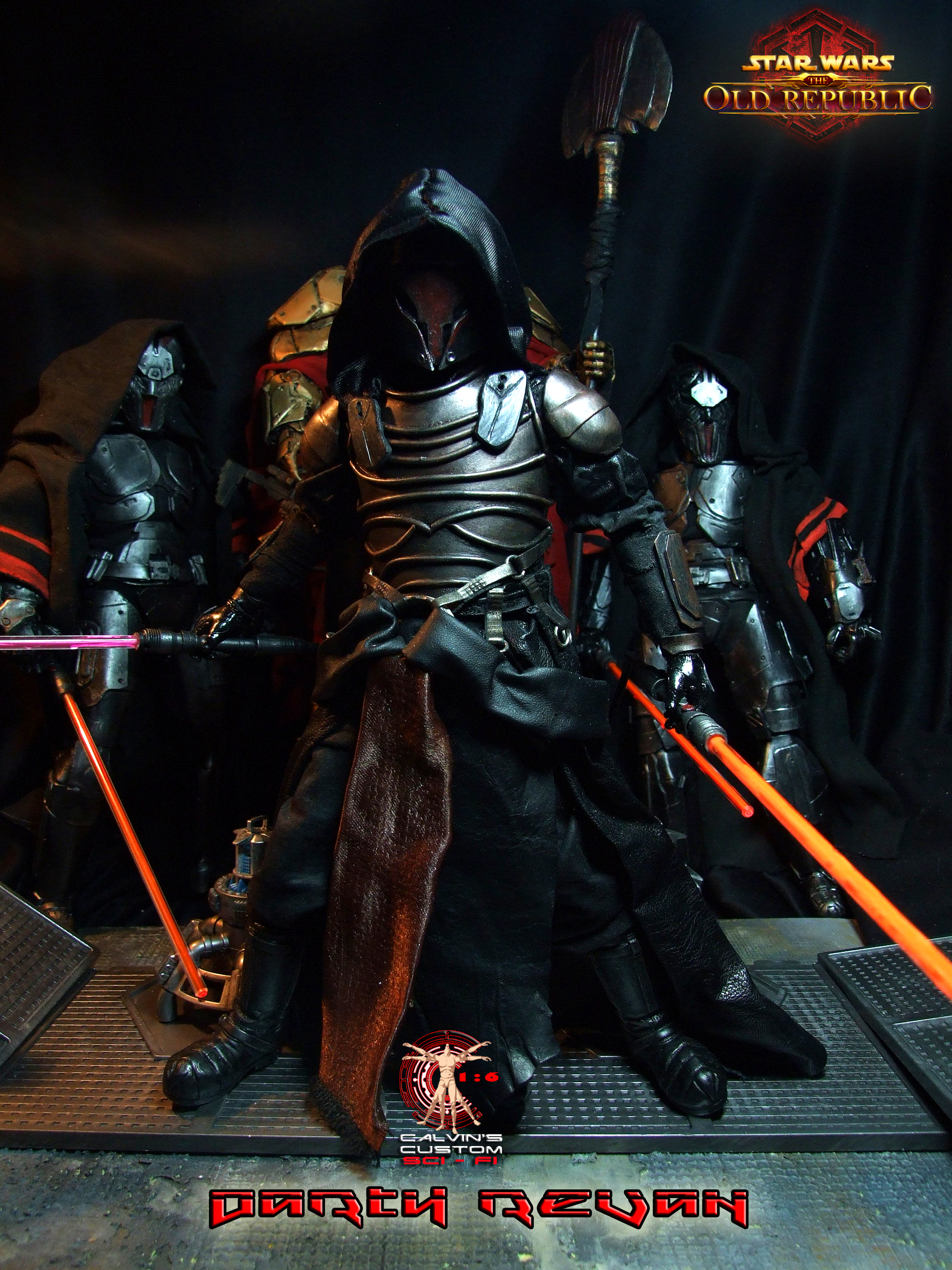 Calvin S Custom One Sixth Scale Swtor Darth Revan Figure Etoile Etoile Star Wars Photo 36977658 Fanpop Page 7