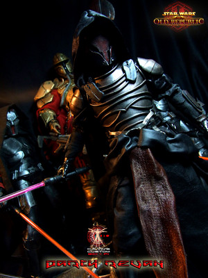 Calvin's Custom One Sixth Scale SWTOR Darth Revan figure