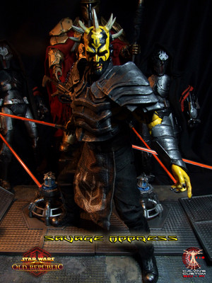 Calvin's Custom One Sixth Scale SWTOR Savage Opress figure