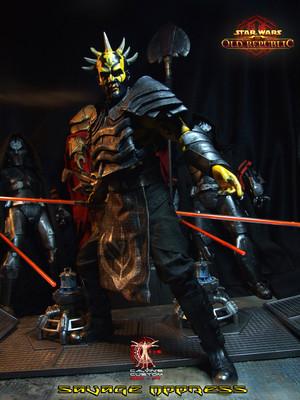 Calvin's Custom One Sixth Scale SWTOR Savage Opress figure