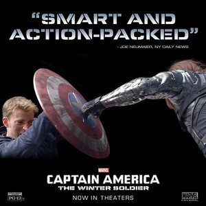 Captain America: The Winter Soldier - 'Smart and Action-packed'