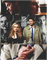 Castiel and Meg                - supernatural fan art
