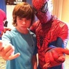 Chandler and Spider-Man