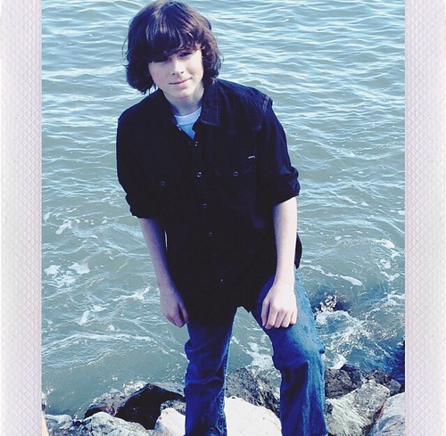 Chandler Riggs Hintergrund entitled Chandler's new Instagram Icon :)