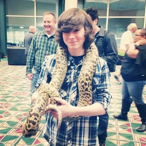 Chandler at Comic Con FanX last weekend