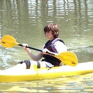Chandler canoeing