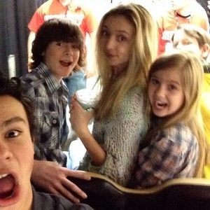Chandler with Hana, Kyla, Garyson and a friend at Comic Con FanX last weekend