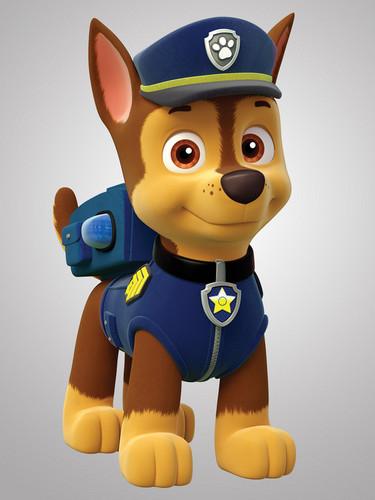 PAW Patrol karatasi la kupamba ukuta entitled Chase