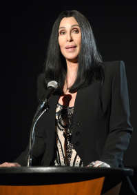 Cher At A Speaking Engagement