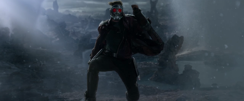 Guardians of the Galaxy 바탕화면 with a 분수 titled Chris Pratt as Star-Lord