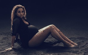 Ciara pregnant shoot