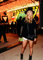 Claire Holt at NYLON and Olay Neon Carnival in Thermal, CA on April 12, 2014 - rebekah photo